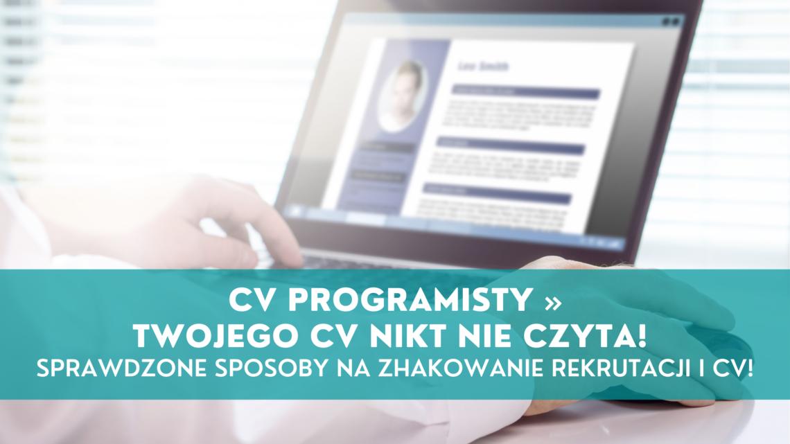 CV programisty