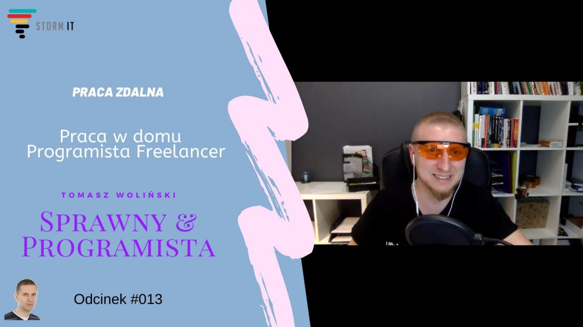 Praca zdalna, programista freelancer
