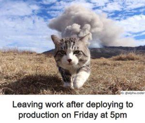 Deployment nowej wersji w piątek o 17:00 – 3