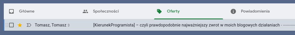 Gmail zakładki 1