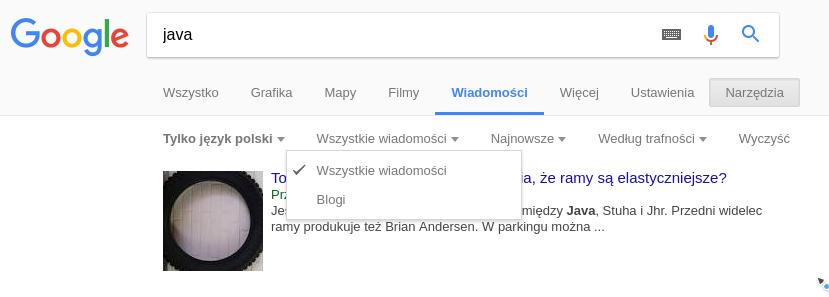 Google wiadomosci