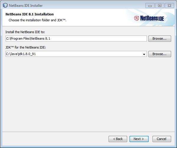 Instalacja Netbeans IDE