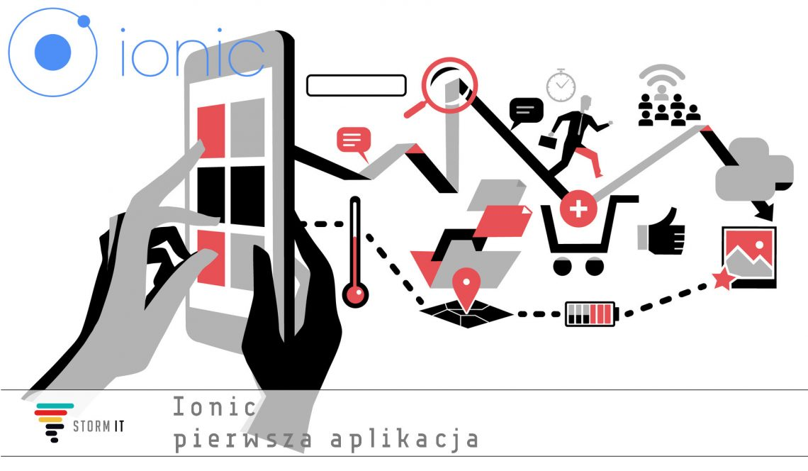Ionic pierwsza aplikacja