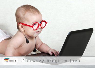 Pierwszy program Java