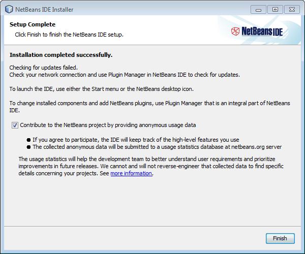 Wysyłanie danych przez Netbeans IDE